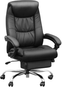 Duramount Reclining Leather Office Chair