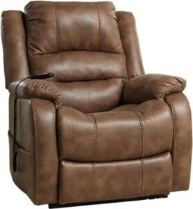 Signature Design Power Lift Oversized Recliner Chair